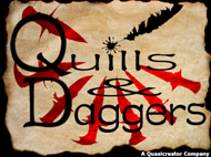 quills and daggers logo